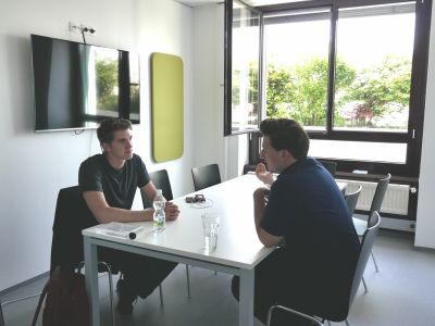 Mentoring-Session With Felix Krause