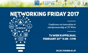 i²c Networking Friday 2017 @ Kuppelsaal, TU Wien  | Wien | Wien | Austria