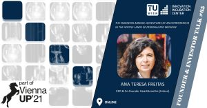 i²c F&I Talk # 65: Ana Teresa Freitas (CEO & Co-founder HeartGenetics) @ Online
