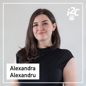 Alexandra Alexandru is a Student Assistant of the TUW i²c