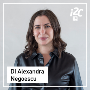 Alexandra Negoescu is the Scientific Program Manager of the TUW i²c