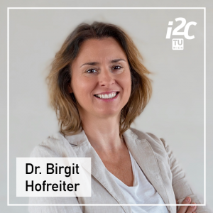 Birgit Hofreiter is the Head of Division & Managing Director of the TUW i²ncubator