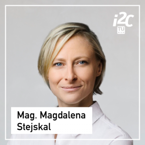 Magdalena Stejskal is an Educational Program Manager of the TUW i²c