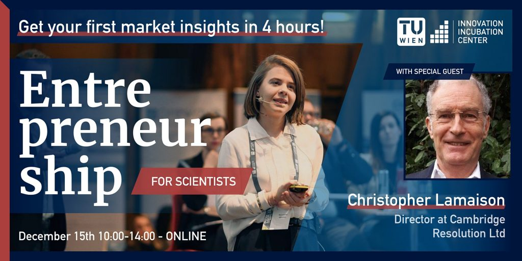 #E4S – Get your first market insights in 4h!
